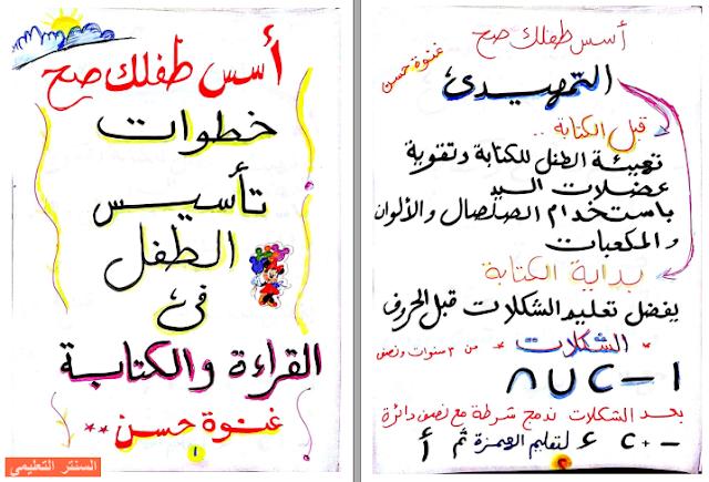 تعليم القراءة والكتابة والنطق للاطفال