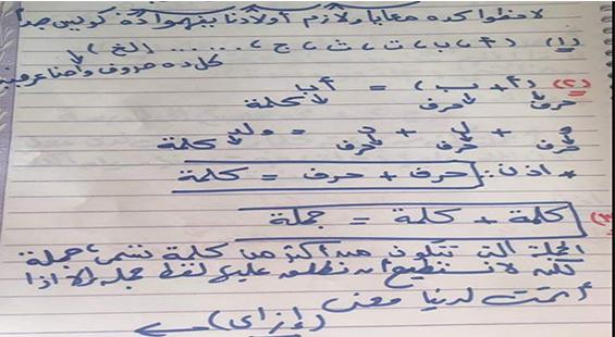 ملزمة تأسيس اللغة العربية بطريقة رائعة للأطفال