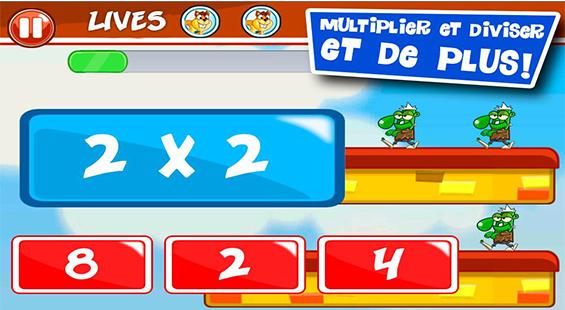 تطبيق تعليم جدول الضرب والأرقام والحساب